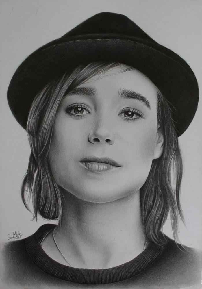 Ellen Page by Denise
